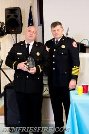 "Nick Frezza Stanley ""Pepper"" Johnson Leadership Award and Chief Nick Nanna"