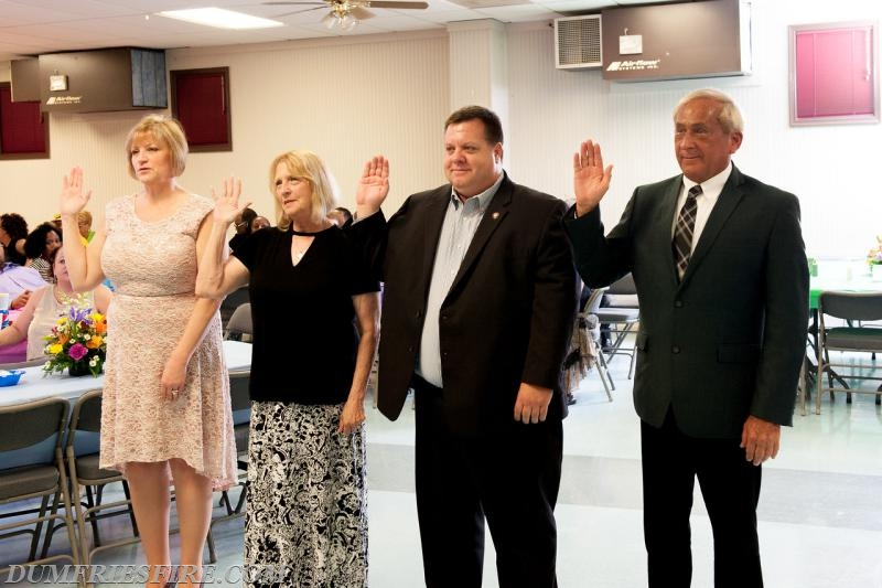 Oath of Office by newly elected Administrative Officers and Board Of Directors.
