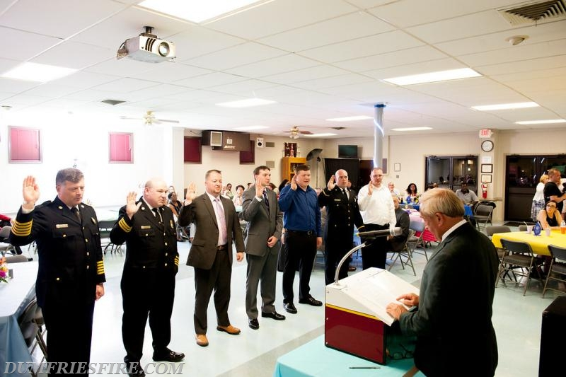 New Operational Officers swearing in ceremony