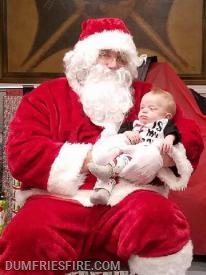 Santa with Vinnie Antolick